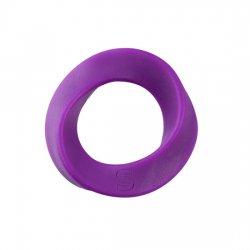 Pénis de silicone bague lilas Normal