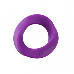 Ring silicone penis Normal lilac