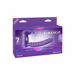 Fantasy C-Ringz penis with silicone vibrator ring