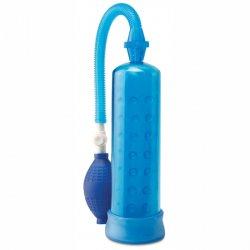 Bomba de Erección de Silicona Azul Pump Worx