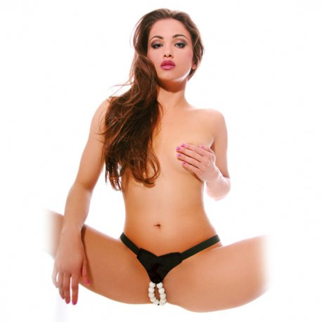 Thong with Luminescent beads