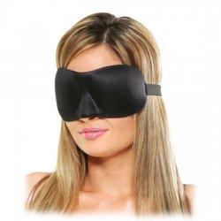 Masque de luxe fantaisie noir