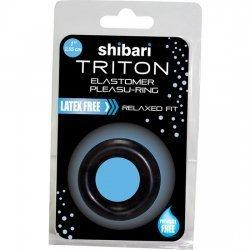 Triton ring for penis black