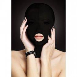 Masque de présentation noir