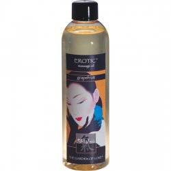 Aphrodisiaque huile de massage Shiatsu avec raisins