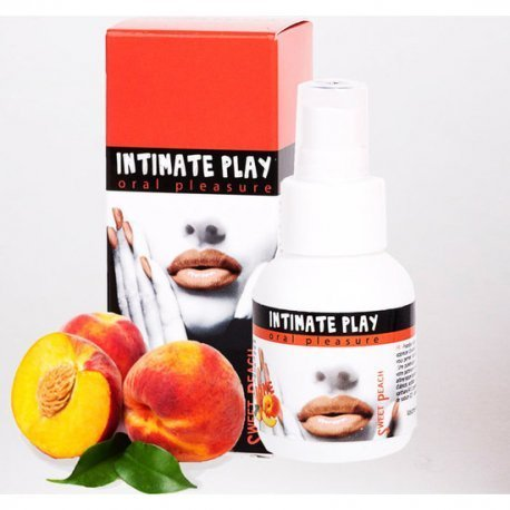 Gel para Sexo Oral Intimate Play Melocotón - diversual.com