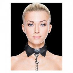 Aïe, collier et ceinture noir Exclusive
