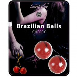Secret Play Brazilian Balls Lubricantes Aroma Cereza