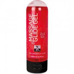 Lubricant and massage gel 2 Shiatsu 1 Strawberry 200 ml