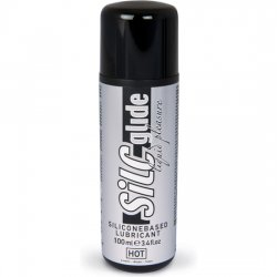 Hot Silc Glide Lubricante Base Silicona 100ml