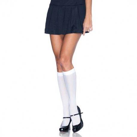 Calcetines de Nylon Blancos