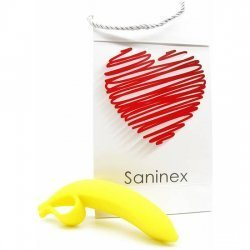 Saninex dildo Banana Orgasmic Fantasy Color Yellow
