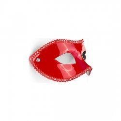 Masque de parties rouge