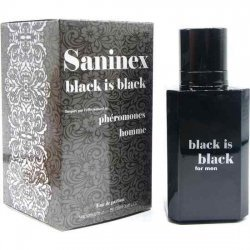 Saninex Perfume Feromonas Black is Black Hombre