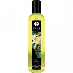Green tea exotic erotic massage oil