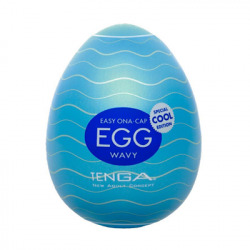 Egg Masturbator has Cool cooling effect