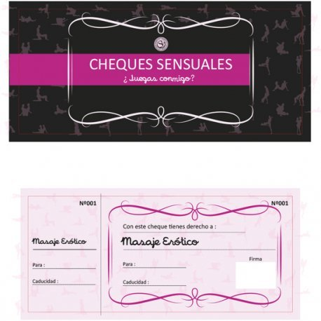 Cheques Sensuales para Regalo - diversual.com