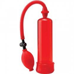 Pompe pompe à érection Worx débutants rouge