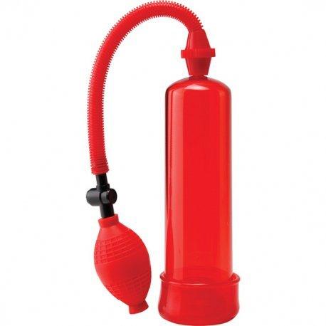 Pump Worx Bomba de Erección Principiantes Roja