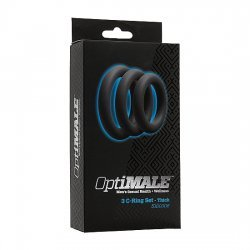 Optimale Pack of 3 rings thickness for the penis