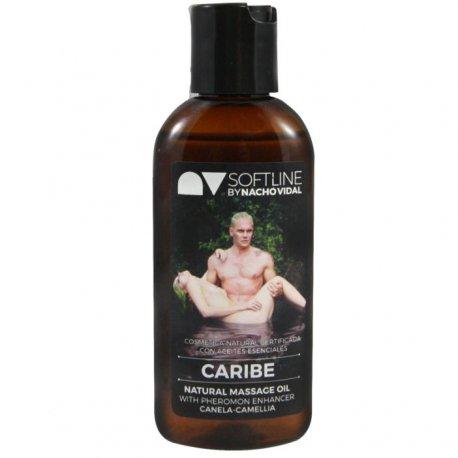 Nacho Vidal Aceite Caribe con Potenciador Feromonas 100 ml