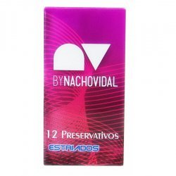 Nacho Vidal condoms ribbed 12 PCs