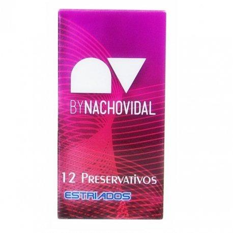 Preservativos Nacho Vidal Estriado 12 Uds