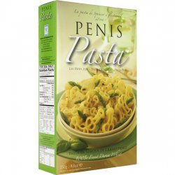 Forme de pâtes alimentaires de pénis de pénis