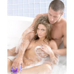 Sex in the Shower sponge in mesh with vibrator