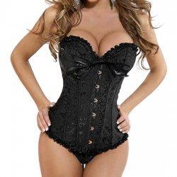 Athena black corset