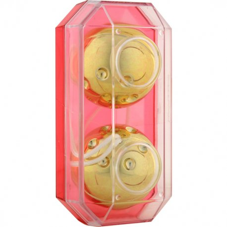 Gold Metal Bolas Estimuladoras 2 Uds