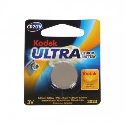 Battery button lithium CR2016 3V Kodak