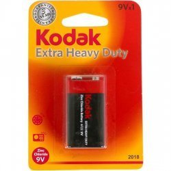 Battery Zinc Extra Heavy Duty 9V Kodak