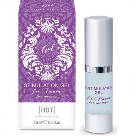 Hot O-Stimulation Gel Estimulante para Mujeres 15 ml