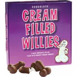 Penes de Chocolate Rellenos de Fondant
