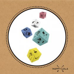 Dice binge of Happy love Lola