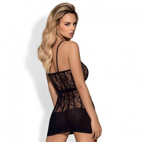 Vestido D605 Dress Negro