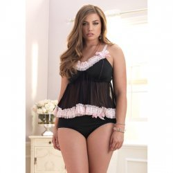 Ensemble 2 Pcs amour Plus Set