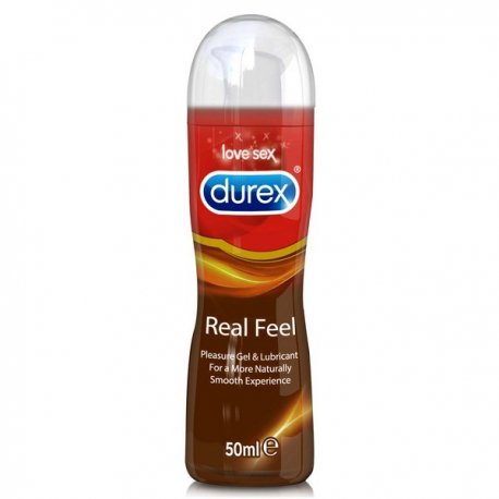 Durex Real Feel Pleasure Gel Íntimo 50 ml