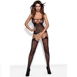 Malla Bodystocking Negro F208