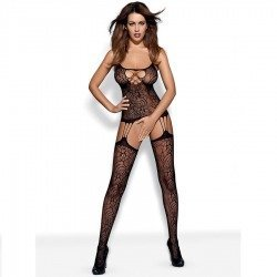 Mesh Bodystocking black F208