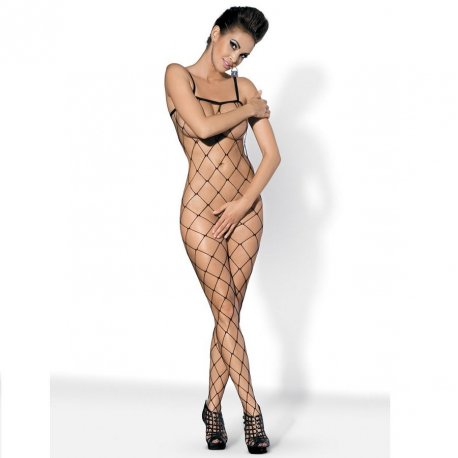Red Bodystocking Negro N102