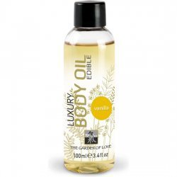 Massage Shiatsu comestible vanille huile
