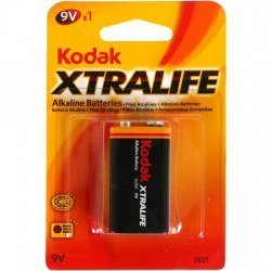 Pila Alkalina 9V 6LR61 Xtralife Kodak
