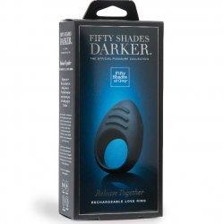 Anillo Vibrador Negro Cincuenta Sombras Darker