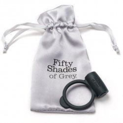Ring black Flexible vibrator fifty shades