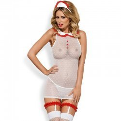 5 PCs 2691 nurse costume