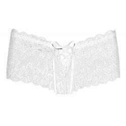 Shorties de Encaje Bloom Blanco