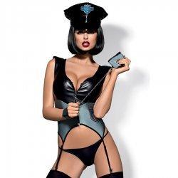 Police costume Corset
