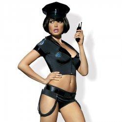 Costume de police américain Obsessive
